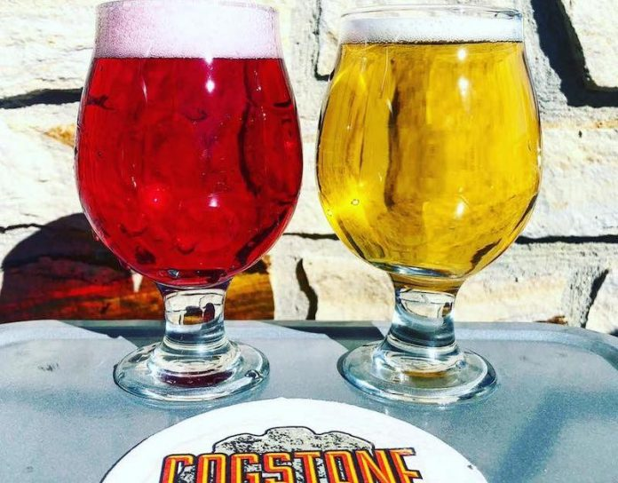 weird beer of Colorado Springs, Chips and Salsa Cerveza Cream Ale, Cogstone Brewing Company