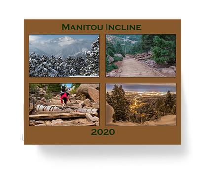 Local calendars feature images of the Manitou Springs Incline