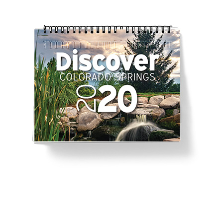 Calendars featuring local aspects of Colorado Springs and surrounding areas