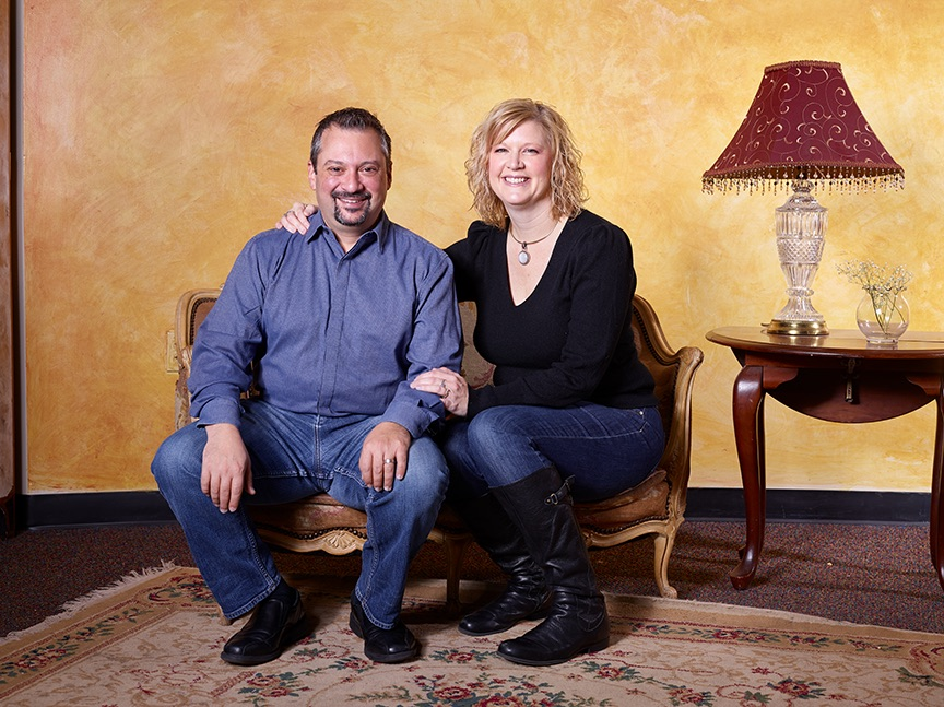 Joye and Scott Levy are one theater couple that takes on Colorado Springs stages