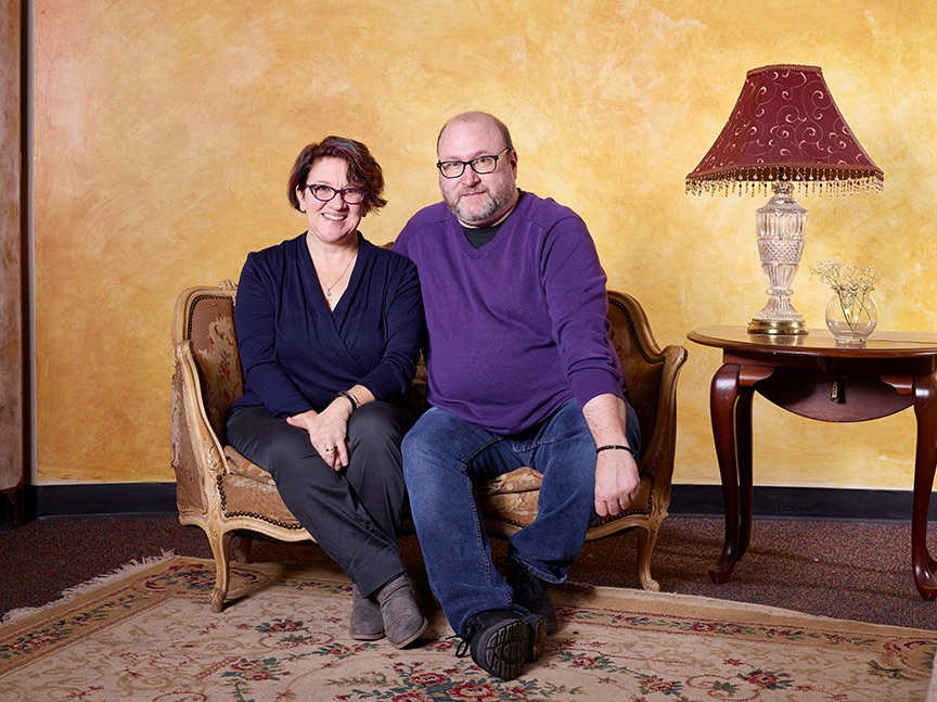 Jodi Papproth andSteve Emily are one theater couple that take on Colorado Springs stages