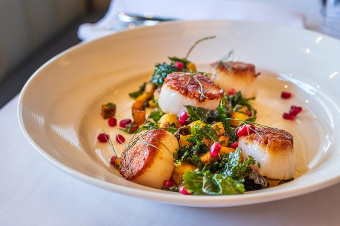 New England Scallops at Jax Fish House & Oyster Bar, Colorado Springs