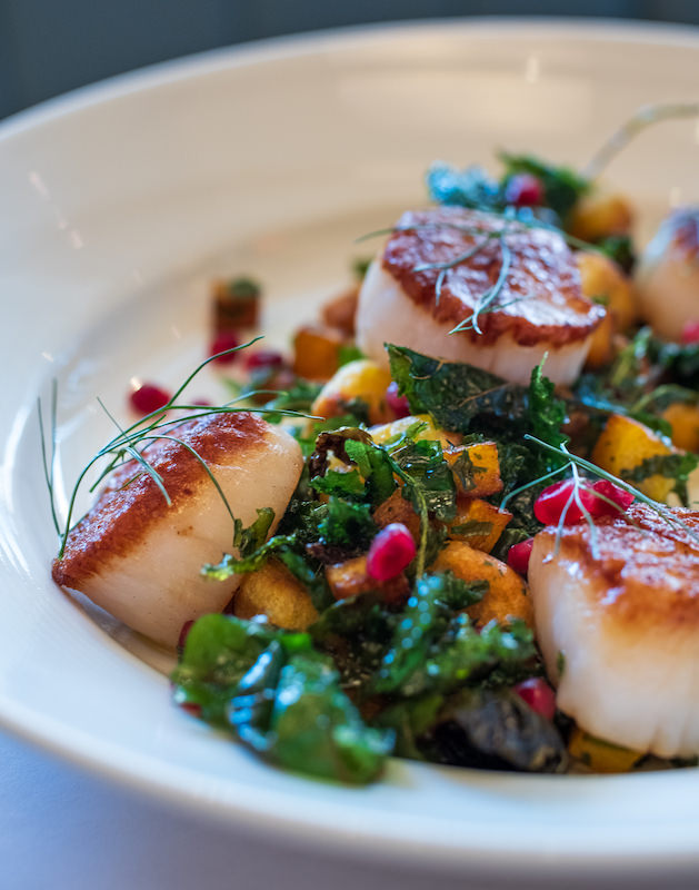 New England Sea Scallops at Jax Fish House & Oyster Bar, Colorado Springs
