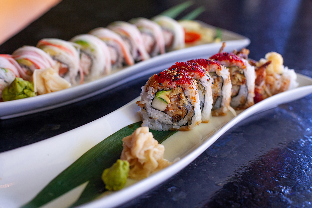Happy hour sushi deals at Fujiyama in downtown Colorado Springs are unbeatable