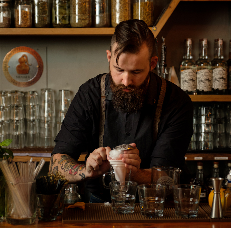 local business Axe and the Oak Whiskey House