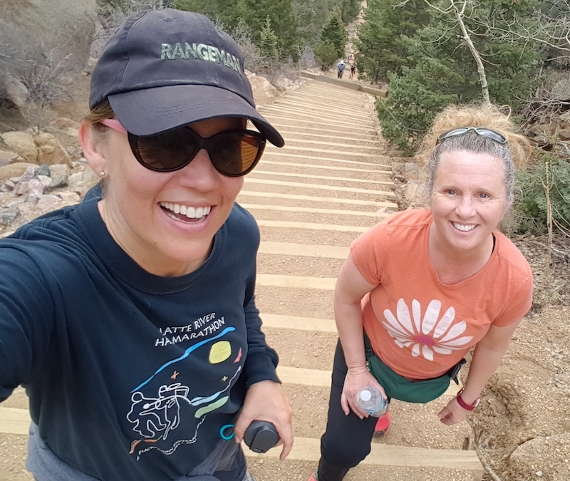 Hiking the Incline in Manitou Springs