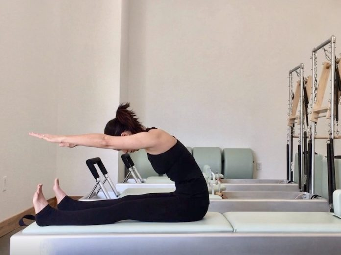 virtual fitness at Whole Living Pilates