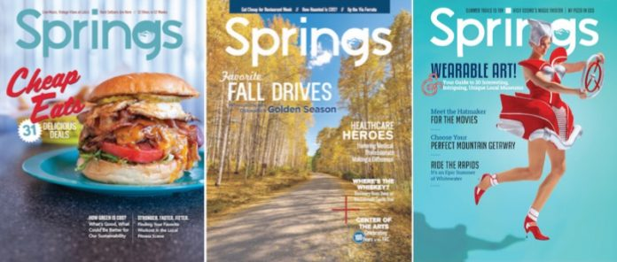 Springs magazine covers