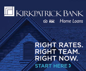Kirkpatrick Bank: Right rates, right team, right now. Start here.
