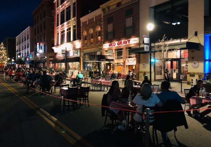 Dine Out Downtown on S. Tejon St.