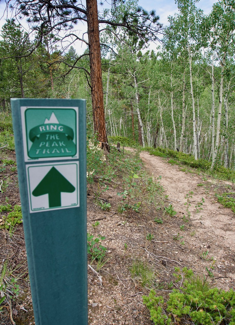 Mt. Esther Trail Head, Ring the Peak Trail