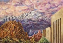 Of Spacious Skies painting for audio play series