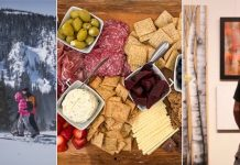 Showshoers, charcuterie, art gallery-local gift experiences
