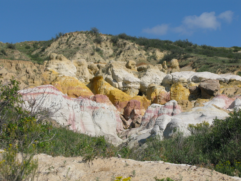 Colorado Springs best trails include the colorful Paint Mines