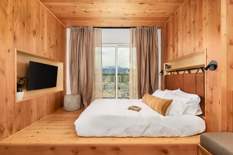 Your Valentine's Day Mountain Junior Suite awaits at Kinship Landing in Colorado Springs