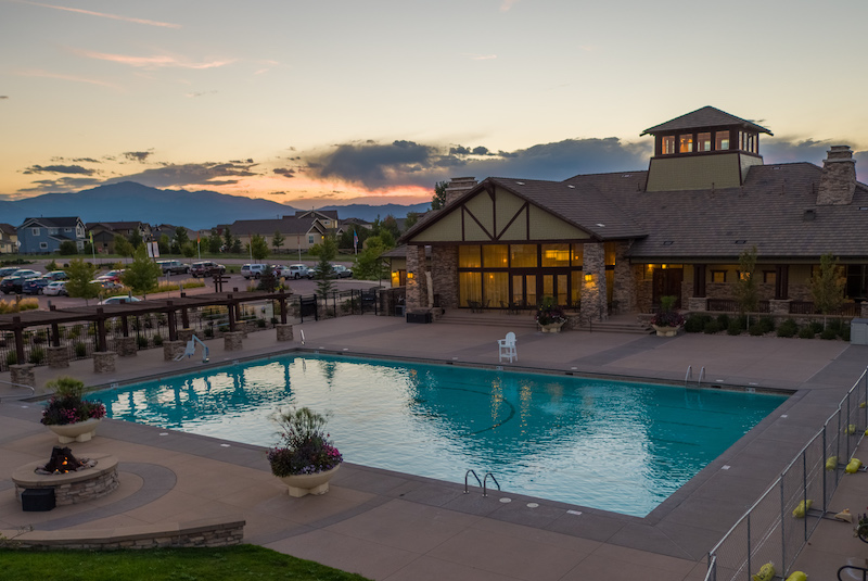 The Ranch House pool, Banning Lewis Ranch