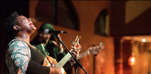 Kyshona plays guitar, will appear at MeadowGrass 2021