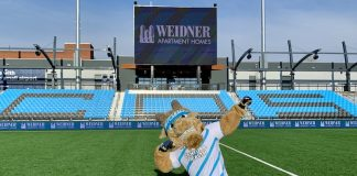 Ziggy is ready to open Weidner Field stadium for Switchbacks FC
