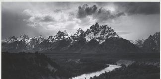 The Tetons and the Snake River, Grand Teton National Park, Wyoming, 1942 Photograph by Ansel Adams © The Ansel Adams Publishing Rights Trust