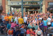 Clubs in Colorado Springs: Jack Quinn's Running Club funny group photo